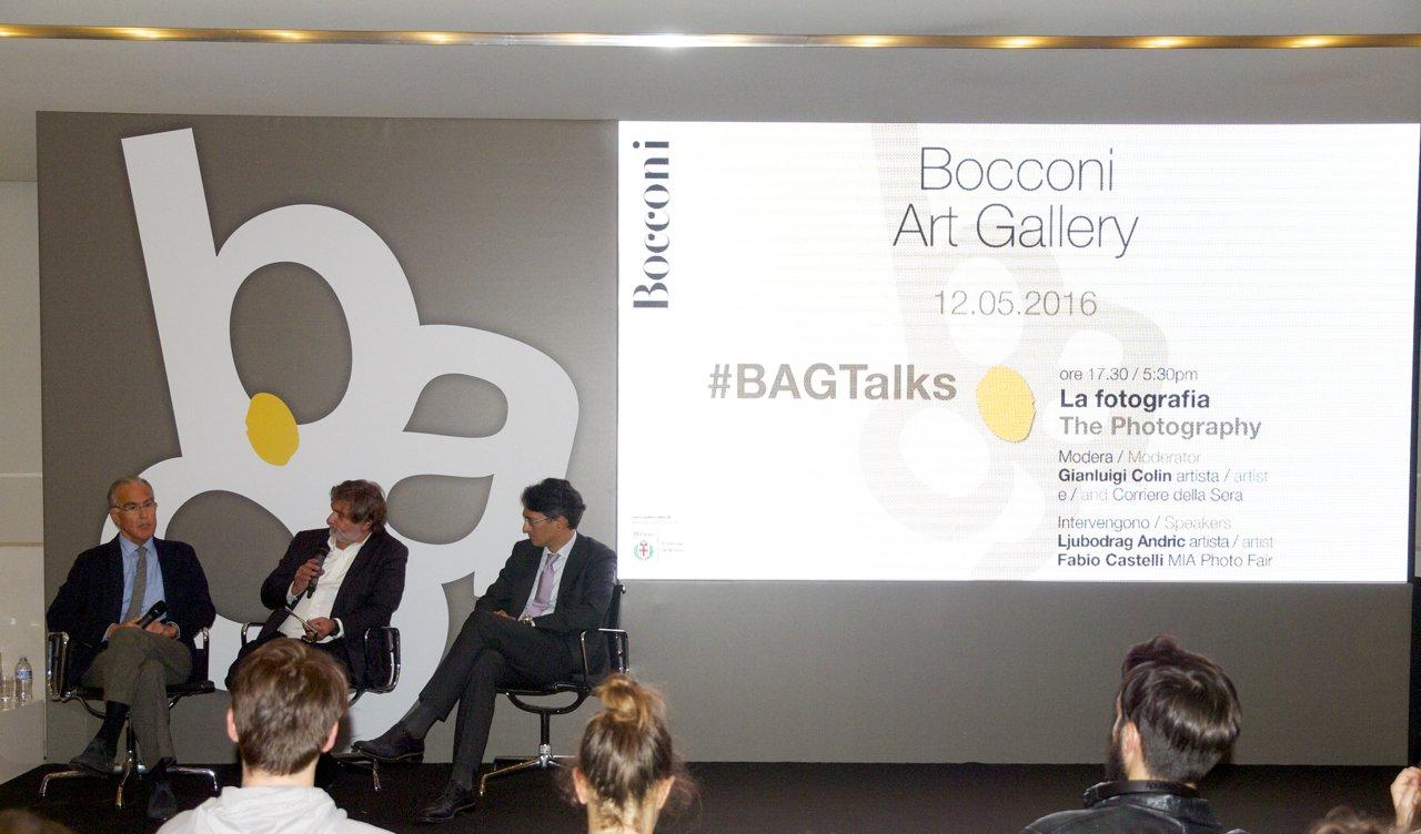 "Bocconi Art Gallery #BAGTalks ""La Fotografia"" ph. Artdirectory Marussi"
